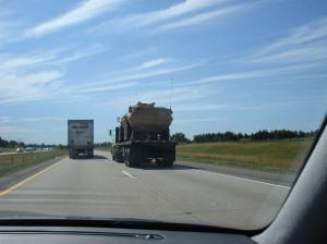 Convoy Truck & Wal-Mart Truck