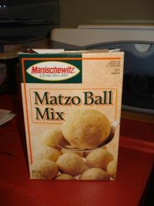Matzo Ball Mix by Manischewitz