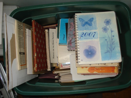 Bin of Past Writing