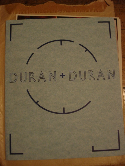 Duran Duran fan club folder