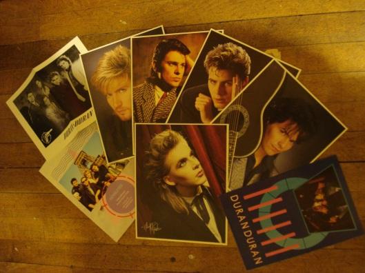 Duran Duran fan club memorabilia