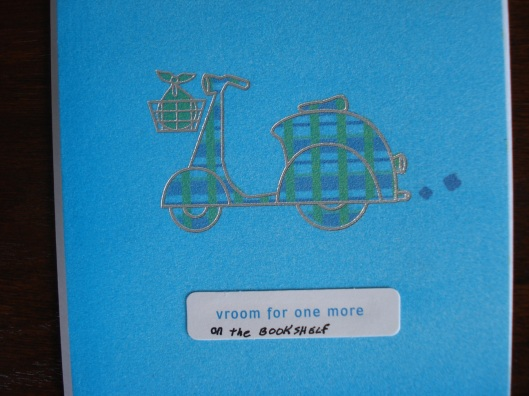 Greeting card by Hallmark