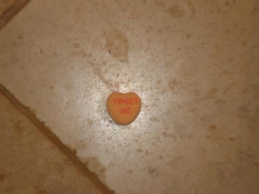 """Tweet me"" Sweetheart, January 26, 2010"