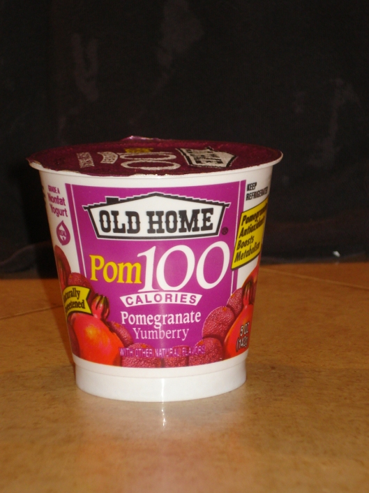 Pomegranate and yumberry yogurt from Old Home, March 10, 2010.