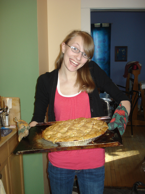 Daughter with the Big Ass Chicken Pot Pie