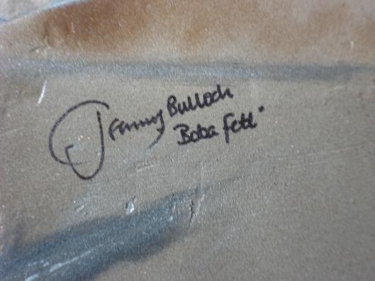 Jeremy Bulloch's autograph, July 2010