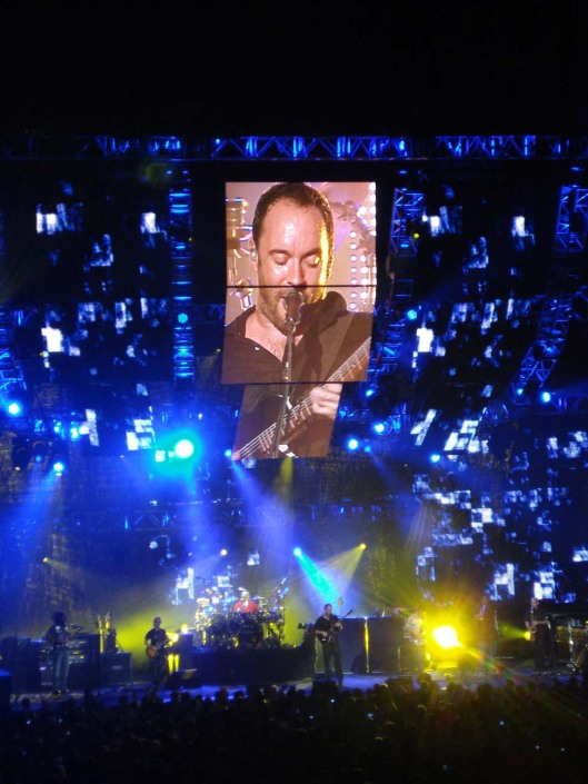 Dave Matthews Band in concert at the Xcel Energy Center, St. Paul, MN, Sept. 15, 2010.