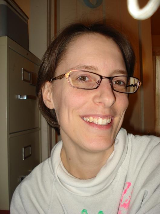 My new glasses, April 10, 2011.