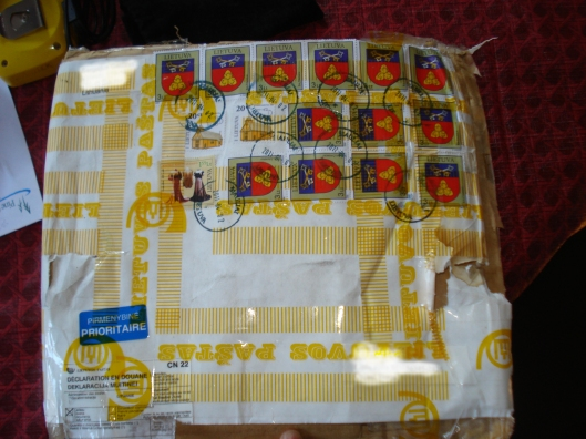 Package from Lithuania, May 2011