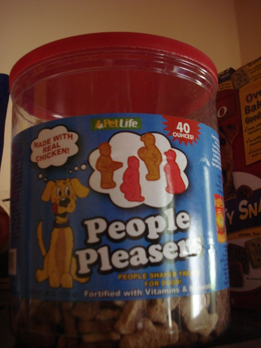 People Pleasers dog treats, May 2011
