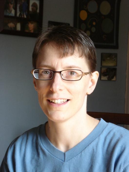 My short haircut, June 2011.