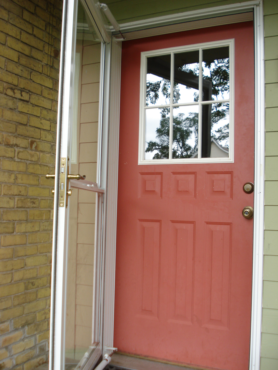Repainting The Front Door The Woo Woo Teacup Journal