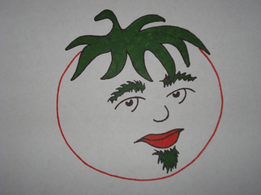 Draft 3, tomato with soul patch, June 27, 2011.