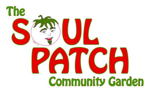 The Soul Patch Community Garden sign, version one, June 27, 2011.