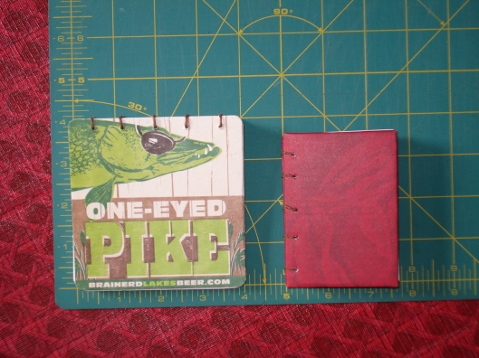 Two handmade books by Mary Warner, August 2011.
