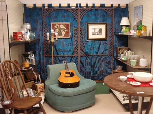 Our space at Rural Origins Antiques in Royalton, MN, August 28, 2011.
