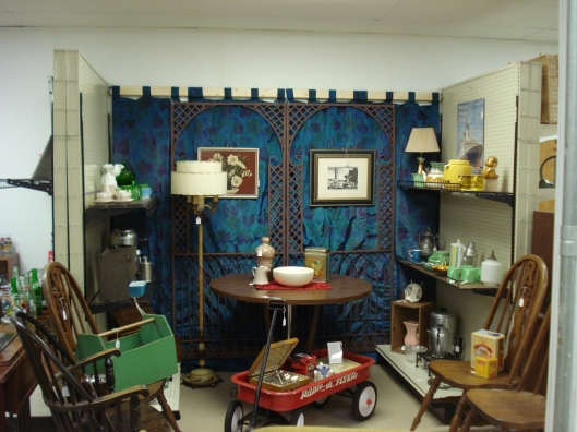 Our antique space at Rural Origins - September 7, 2011.