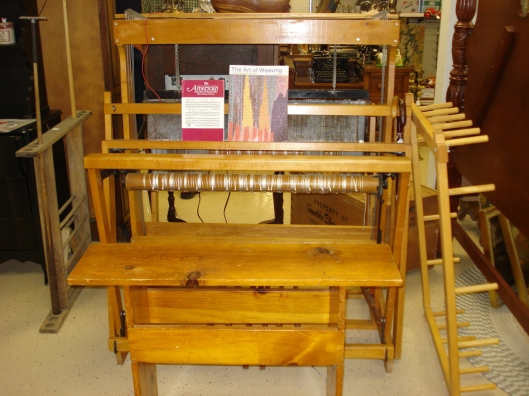 Macomber Ad-a-Harness Loom, September 2011.