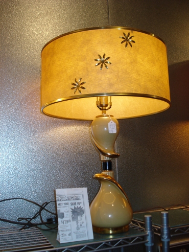 Hollywood Regency Revolv-a-Lite Lamp