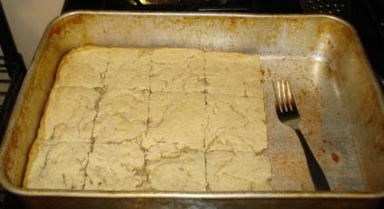 Altered Whole Grain Flatbread, February 2012
