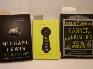 Three black & green books - my reading in July 2012