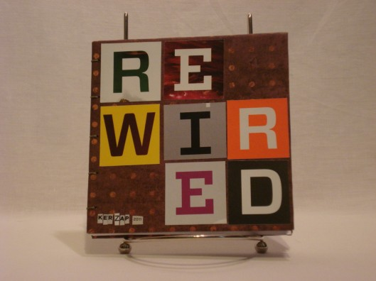 Rewired - Front cover, Kerzap 2011