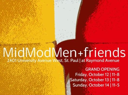 MidModMen + friends Grand Opening, October 2012