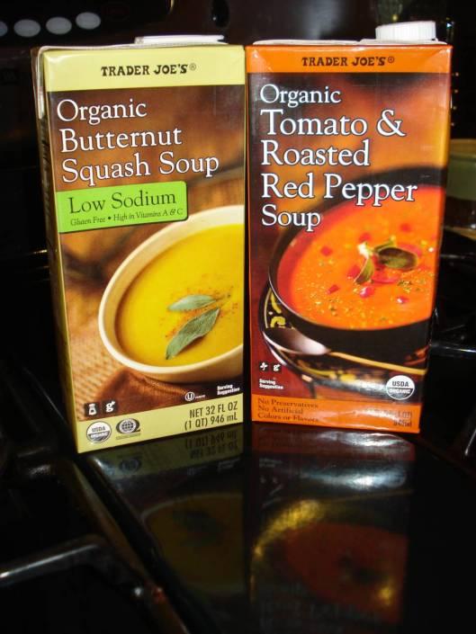 Trader Joe's soups